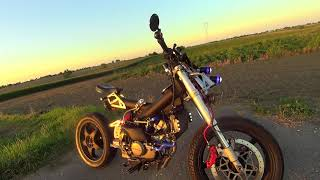 SACHS MADASS 125cc HONDA Engine / SUPER MOTO Toples / part.3