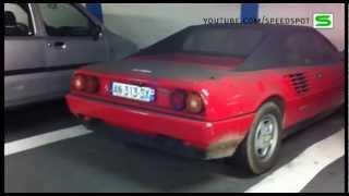 Very dirty Ferrari Mondial