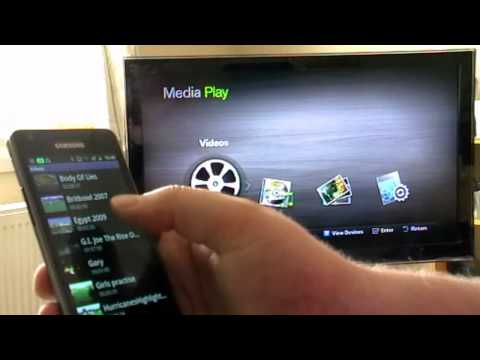 Samsung Galaxy S2 DLNA Demo