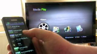 Samsung Galaxy S2 DLNA Demo