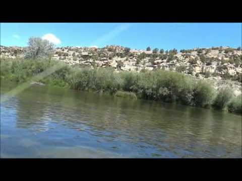 Sony HX100V HD San Juan River New Mexico Fly Fishing Video Test Aug 2011