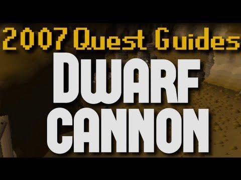 Runescape 2007 Quest Guides: Dwarf Cannon