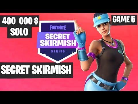 Fortnite Secret Skirmish SOLO Game 5 Highlights [Day 2] Fortnite Tournament 2019
