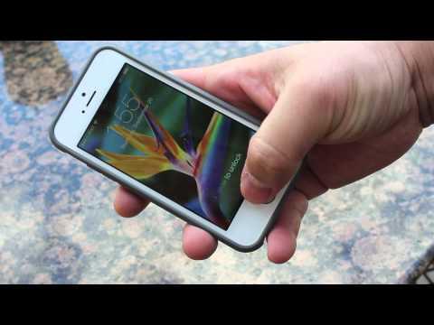 Spigen GLAS.tR Nano Slim with iPhone 5s Review (0