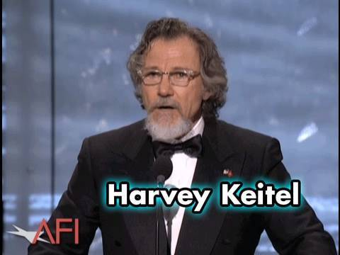 Harvey Keitel Salutes Robert De Niro at AFI Life Achievement Award