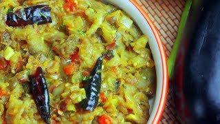 Baingan Bharta Recipe | How to make Bharta | Village Travel Food
