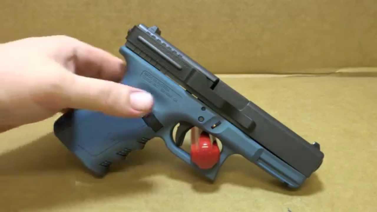 Glock 19 With Blue Titanium