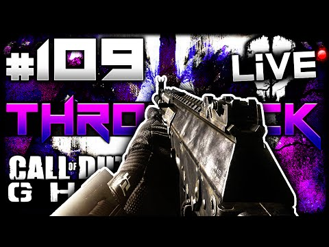 CoD Ghosts: THROWBACK AR! - LiVE w/ Elite #109 (Call of Duty Ghost Multiplayer Gameplay)