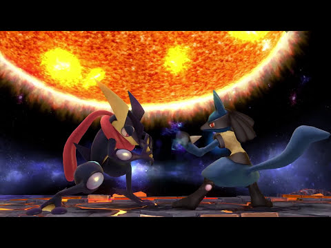 Super Smash Bros. for 3DS/Wii U Challenger From the Shadows