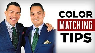 3 Easy Color Matching Rules EVERY Man Should Know | Effortless Gent