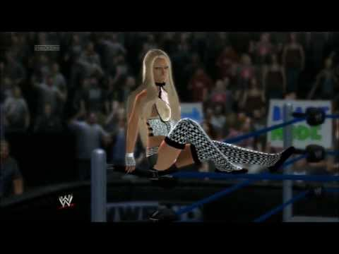 WWE2K14: Marie vs Jewel. Special Referee: Breanna