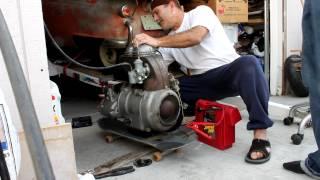 BMW ISETTA ENGINE 300cc second try