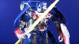 TRANSFORMERS 4 AGE OF EXTINCTION LEADER CLASS OPTIMUS PRIME TOY REVIEW