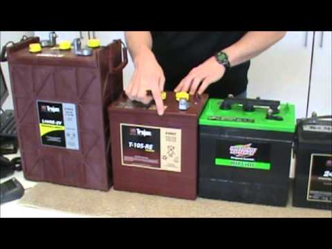 Battery - Solar Battery Options