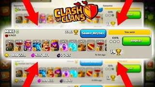 THIS WAS INSANE! - Clash of Clans - CoC