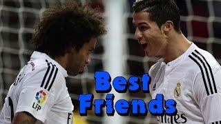 Cristiano Ronaldo & Marcelo Vieira - Best Friends - Funny moments, celebration, goals 2009 - 2016 HD
