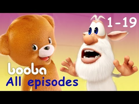 Booba - All Episodes Compilation (19 -1) Funny cartoons for kids буба 2017 KEDOO animation for kids thumbnail