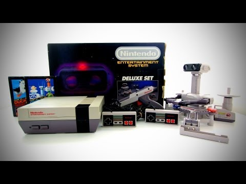 Nintendo NES Deluxe Set Unboxing (1985)