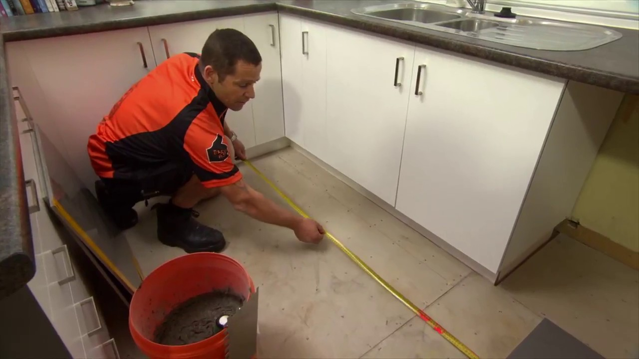 How to do floor tiling