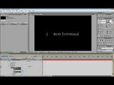 After Effects Basic Text Animation