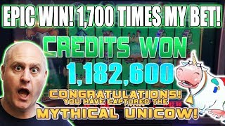 ✦ EPIC BONUS! ✦ 1,700 x WIN! 🎰700 + Free Games ➡️Mythical Unicow Captured | The Big Jackpot