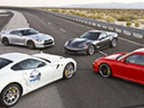 Top Speed Shootout! - ZR1 vs GT-R vs GT2 vs 599 Music Videos