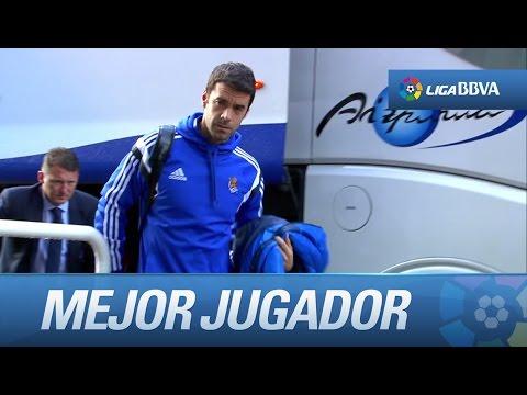 Xabi Prieto es el mejor jugador de la jornada por su actuación en el Real Sociedad - Sevilla FC