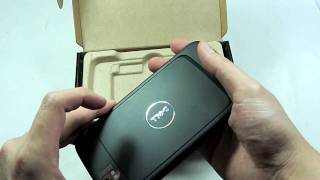Dell Streak Unboxing
