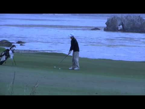 ... players and a pair of well healed amateurs for rounds at Pebble Beach ...