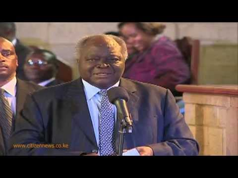 Pres  Kenyatta, Kibaki and Raila on Political Temperatures