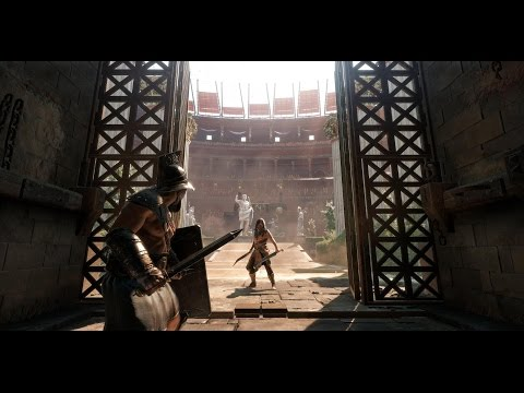 Гладиаторские Бои Ryse Son of Rome прямая трансляция