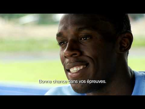 Usain Bolt's Message for the YOG Athletes - Singapore 2010 Youth Games Video