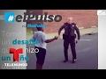 Oficial de policía se hace viral tras un reto de baile con un niño | El Pulso | Entretenimiento