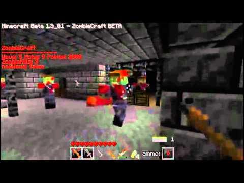 Zombiecraft a (MineCraft Mod)- Nazi Zombie Mysterybox[All the Guns Review]