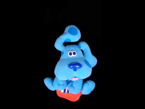 Vintage Blues Clues Singing Freeze Dance Mattel Fisher Price 200