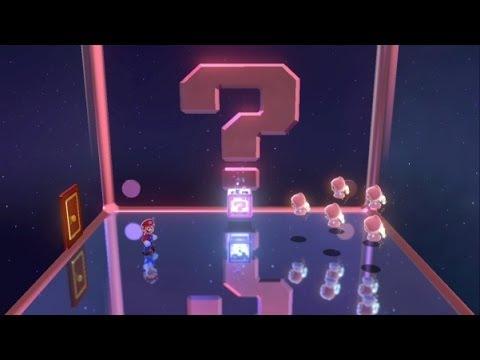 Super Mario 3D World 100% Walkthrough Part 39 - World Crown - Mystery House Marathon