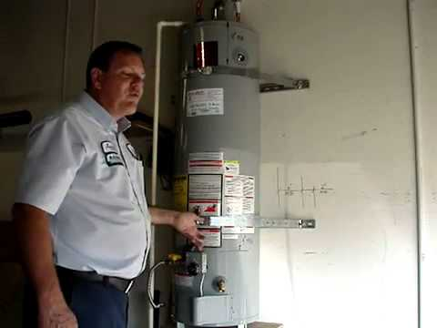 How To Install A Water Heater To Code Youtube