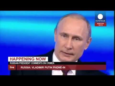 Putin Q&A: 'We can't live separately with Ukraine' (recorded live feed)