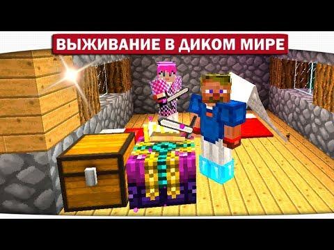 ч.08 Могила деревенского Волшебника. Что в ней? - Выживание в диком мире (Lp.Minecraft)
