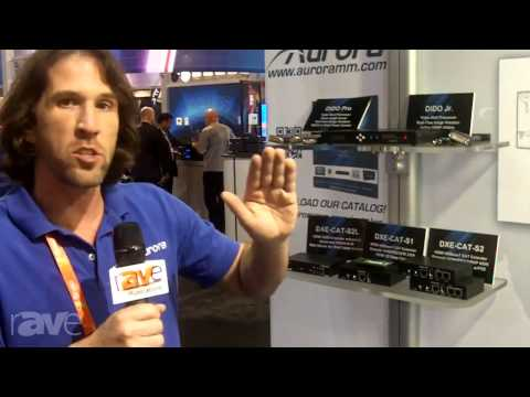 CEDIA 2013: Aurora Showcases its DXE-CAT Series of HDBaseT Extenders