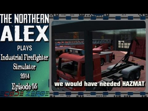 Industrial Firefighter Simulator 2014 - We would have needed HAZMAT -