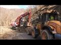 Tanto lavoro sulla strada e in parete a Rondanina per riaprire la SP15