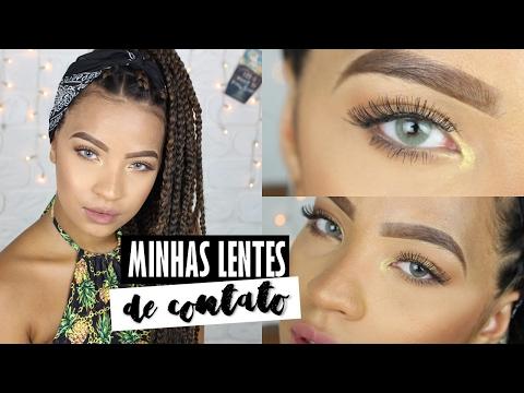 MINHAS LENTES DE CONTATO - POR CAROL MAMPRIN