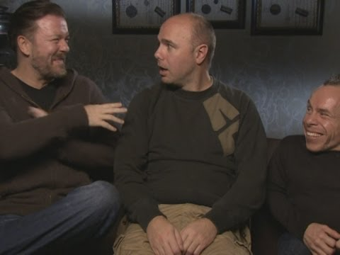 Ricky Gervais and Karl Pilkington talk An Idiot Abroad 3