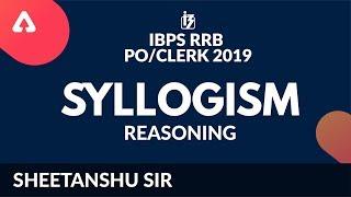 IBPS RRB PO/CLERK 2019   Syllogism   Reasoning   Sheetanshu Sir    6 PM