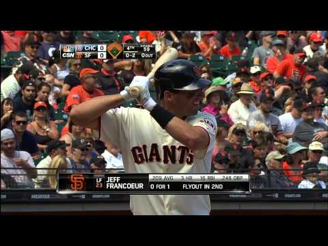 San Francisco Giants vs Chicago Cubs 28.07.13 [Full Game HD]