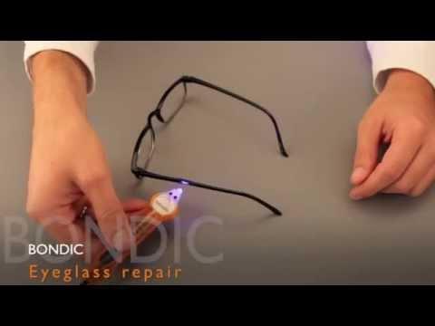 Bondic - Liquid Plastic Welder - Fix Broken Glasses