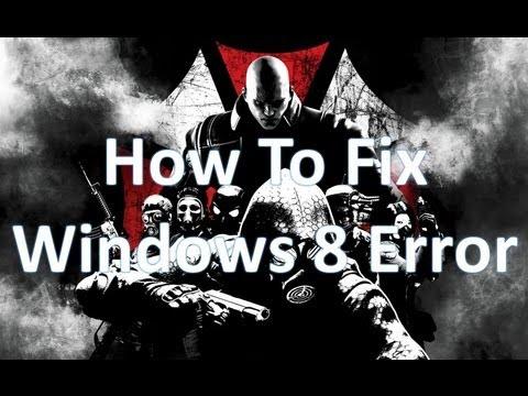 RE: Operation Raccoon City Crash on desktop Windows 8