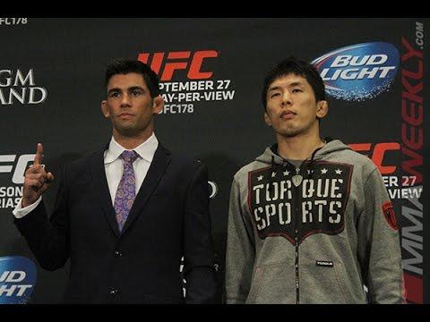 Dominick Cruz I Only Know One Way to Fight UFC 178 Media Day