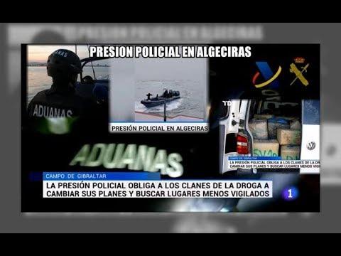 La presion policial obliga a buscar otras rutas - Aduanas SVA